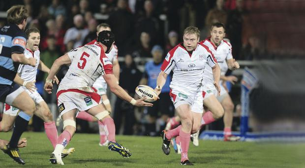 Impact: Ulster's Tom Court will be missed when he leaves for London Irish