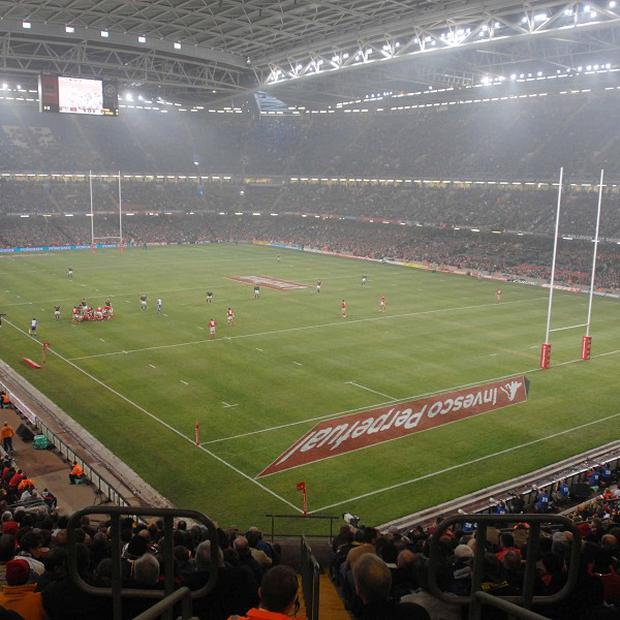 Cory Allen will start for Wales at the Millennium Stadium.