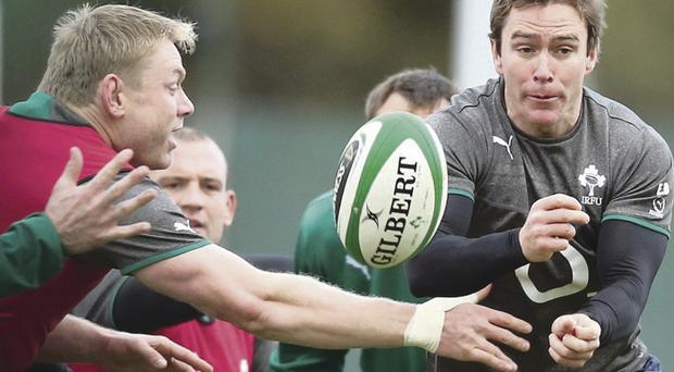 Coach's call: Eoin Reddan has got the nod ahead of Conor Murray