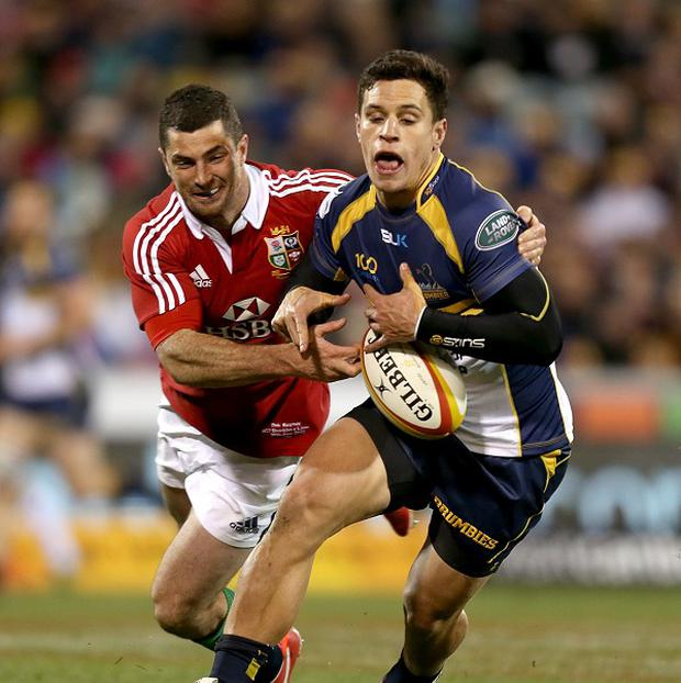 Matt Toomua is a key playmaker for Australia