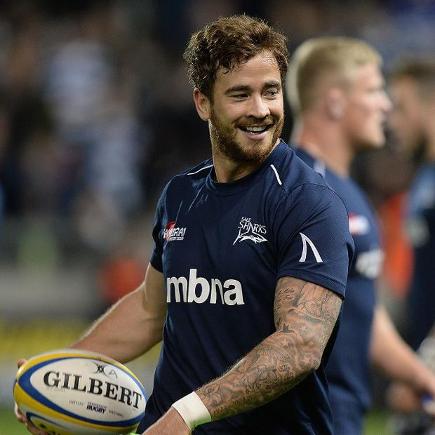 Danny Cipriani was a try-scorer for Sale.