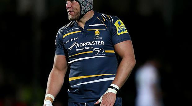 James Percival could not stop Worcester losing to Leicester in the LV= Cup.