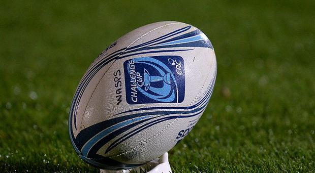 Newport Gwent Dragons' victory over London Wasps was marred by a mass brawl.