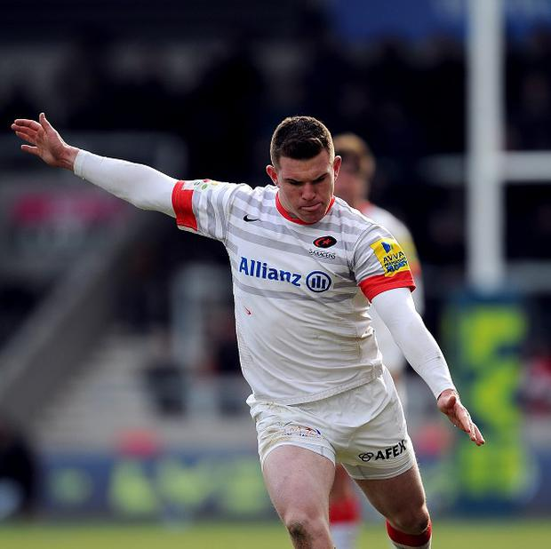 Ben Spencer kicked 17 points for Saracens