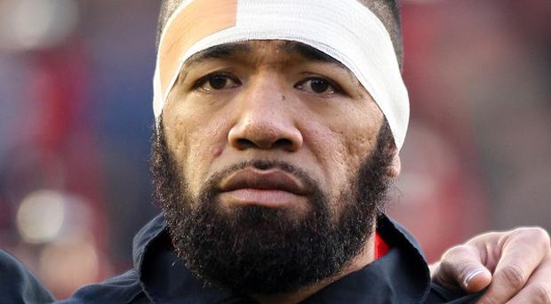 Viliami Ma'afu will start at number eight against Wales.