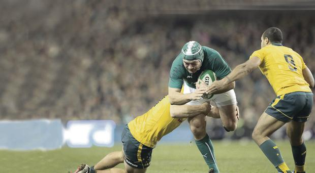 Rallying call: Rory Best insists Ireland can produce a display to send a statement of intent across international rugby inpho