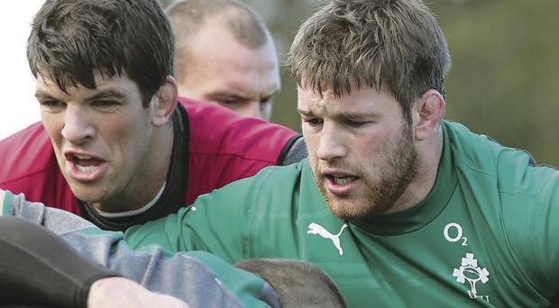 In it together: Sean O'Brien feels that Ireland have the necessary qualities to trouble the All Blacks