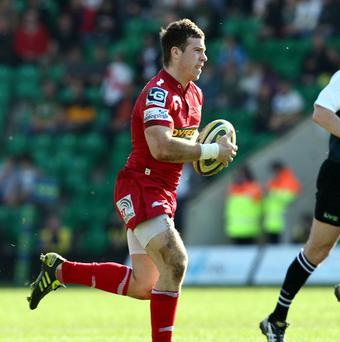 Gareth Davies went over for one of Scarlets' tries