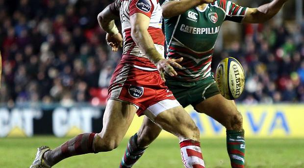 Gloucester's Jimmy Cowan was sent to the sin-bin during the defeat by Harlequins