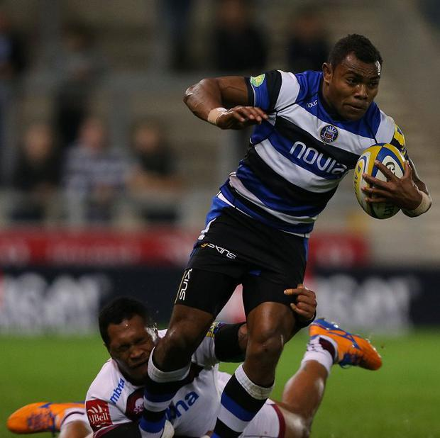 Semesa Rokoduguni scored Bath's opening two tries in their 28-5 Aviva Premiership triumph at Wasps