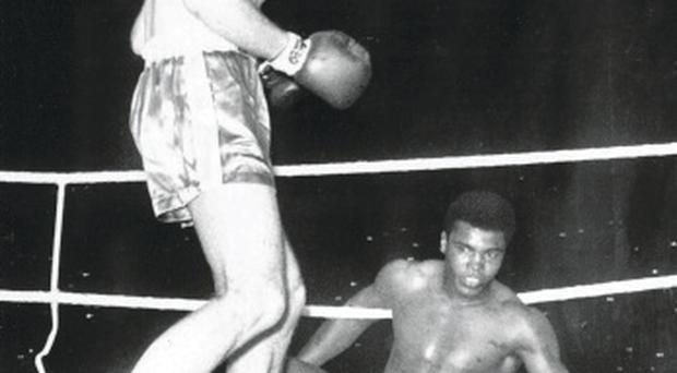 Boxing clever: Cassius Clay fought back to topple Cooper