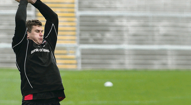 Robbie Diack captained Ulster to their heavy win over Edinburgh