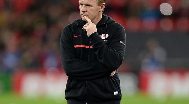 Saracens director of rugby Mark McCall, pictured, admits Sale made it very difficult for his side.