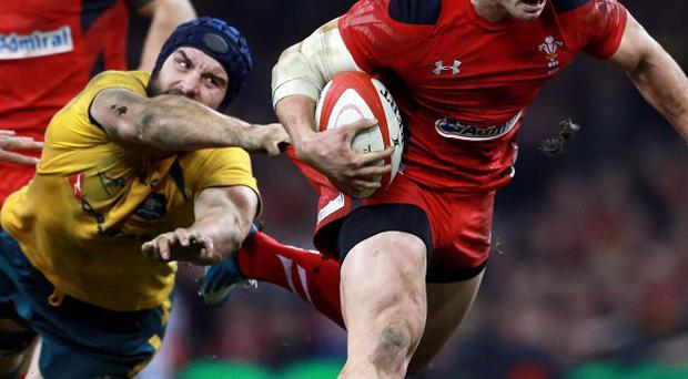 George North's two tries could not prevent Wales from going down 30-26 to Australia at the Millennium Stadium.