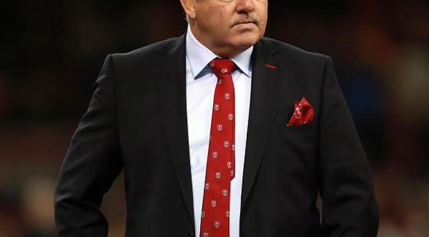 Warren Gatland who was named UK Coach of the Year after leading the British & Irish Lions to a series victory in Australia.
