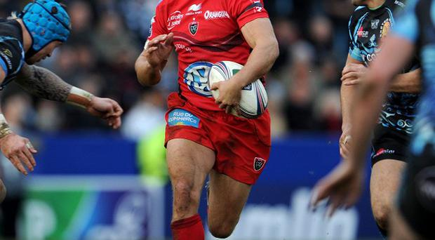 Toulon's Jonny Wilkinson during the Heineken Cup match at Sandy Park, Exeter.