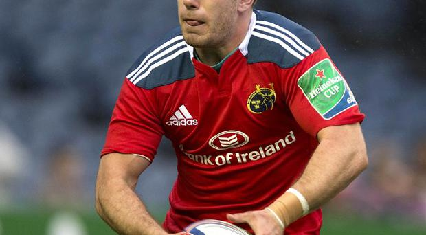 JJ Hanrahan scored at the death to seal victory for Munster