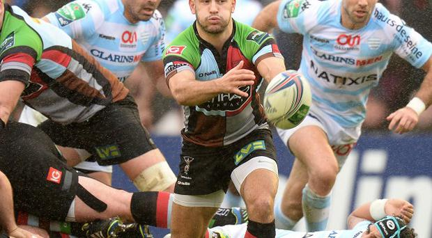 Danny Care gets play moving for Harlequins