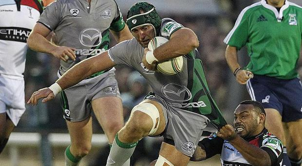John Muldoon has signed a new two-year contract with home Irish province Connacht.