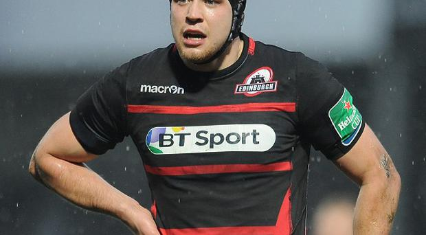 Lock Grant Gilchrist has penned a new deal with Edinburgh Rugby