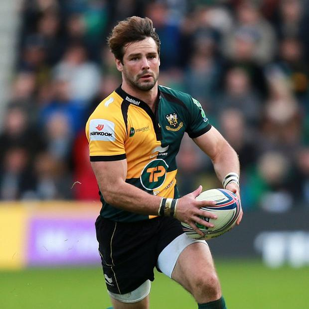 England's Ben Foden, pictured, is one of five players to sign a new deal with Northampton
