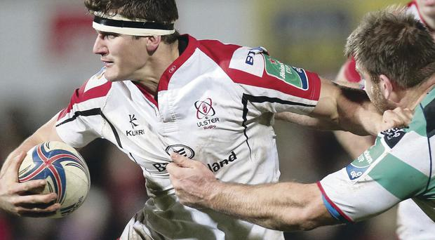 Raring to go: Ulster's Robbie Diack should be fit to face Leinster