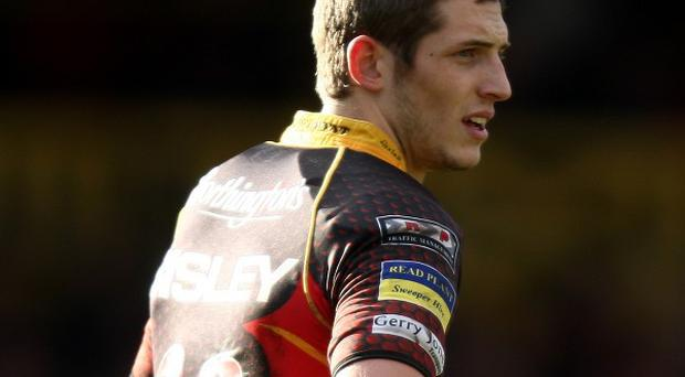 Jason Tovey was on form for Newport Gwent Dragons in the win over Cardiff Blues.