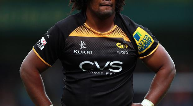 Ashley Johnson scored one of to tries for Wasps