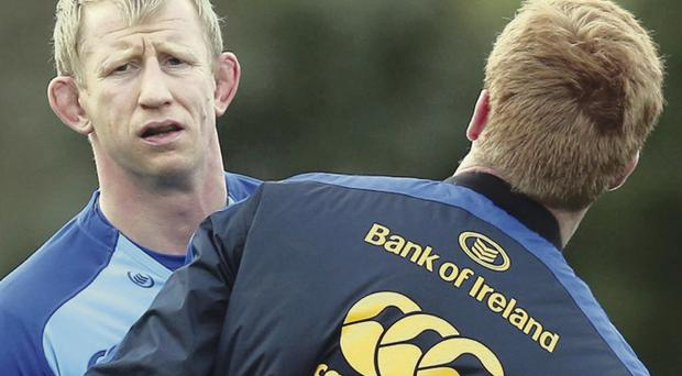 On the move: Leo Cullen will take on a coaching role next season