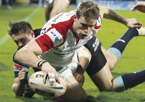 Recalled: Andrew Trimble brought back tonight on the right wing