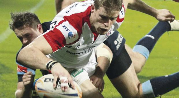 Andrew Trimble among Ulster players suffering soft tissue injuries after defeat to Leinster