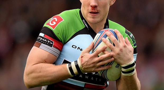 Mike Brown went over for one of Harlequins' tries