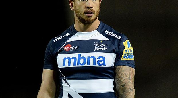 Danny Cipriani was on target for Sale in their 16-8 win over Newcastle