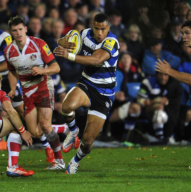 Bath coach Mike Ford has tipped Anthony Watson (pictured with ball) for a Six Nations place.