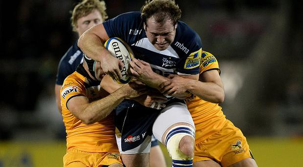 Sale Sharks prop Henry Thomas can handle the pressure of facing France, according to Stuart Lancaster