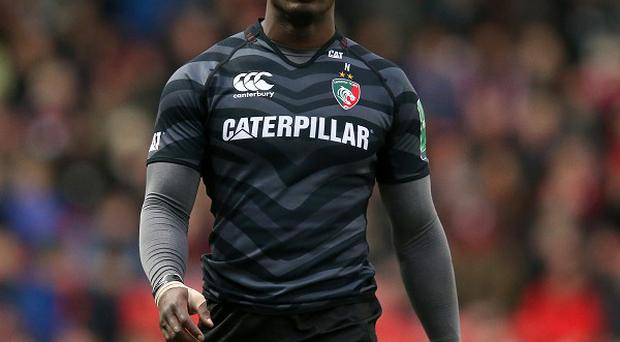 Leicester wing Miles Benjamin scored two tries in the win over Treviso