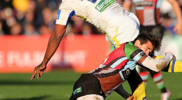 Sitiveni Sivivatu went over for Clermont's winninh try