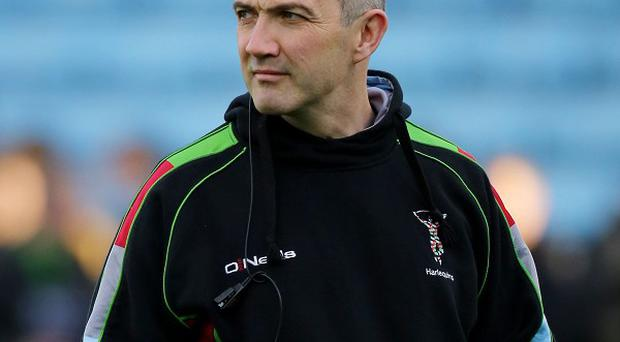 Harlequins Director of Rugby Conor OShea during the Heineken Cup, Pool Four match at Twickenham Stoop, London.