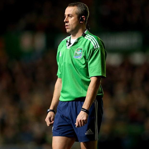 International referee Nigel Owens was left shaken after being involved in an accident on the M4 motorway.