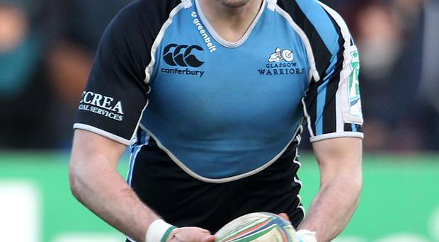 Ruaridh Jackson will make his 100th appearance for Glasgow Warriors against Toulon on Saturday.