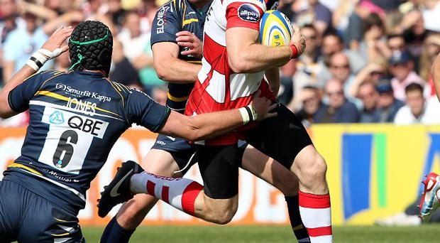 Shane Monahan scored two tries for Gloucester