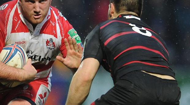Cornell Du Preez, right, was sin-binned for the incident