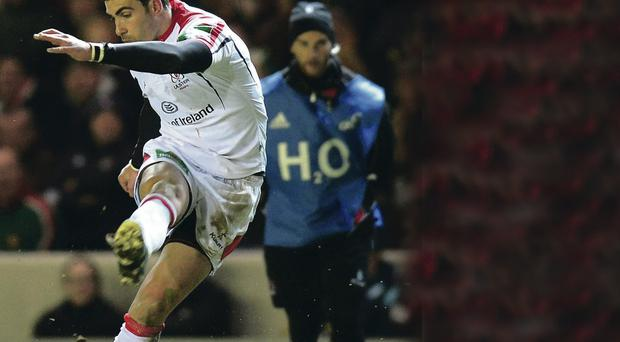 Red hot: Ruan Pienaar proved once again against Leicester what a world-class player he is