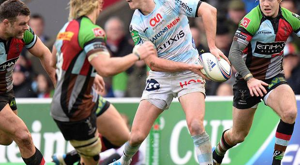 Ireland boss Joe Schmidt will be forced to sweat on fly-half Johnny Sexton's fitness again as the Racing Metro man will be his only squad star playing club rugby this weekend.