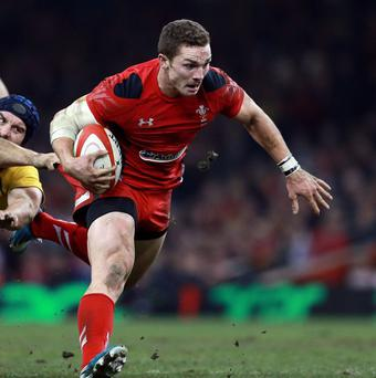 Wing George North will be one of Wales' biggest threats and a real box-office draw for the RBS 6 Nations championship.