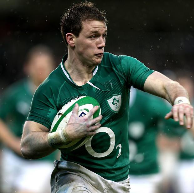 Craig Gilroy, pictured, is hoping to impress Ireland boss Joe Schmidt