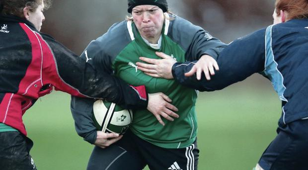 Amy Davis knows the Ireland women's side face an uphill fight to taste Six Nations success again