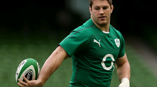 Ireland's Sean O'Brien is recuperating following shoulder surgery