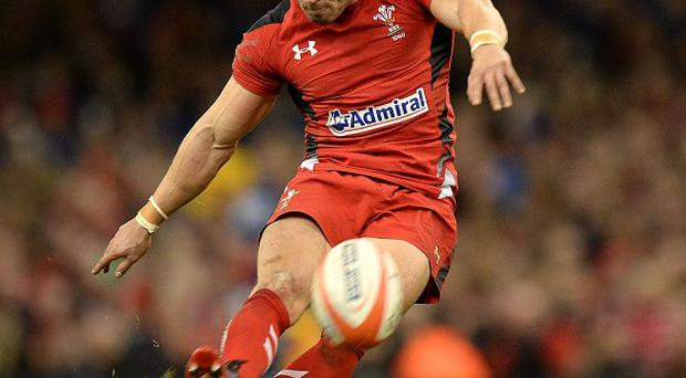 Leigh Halfpenny kicked both conversions as Wales beat Italy in Cardiff
