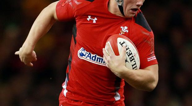 Jonathan Davies moved closer to a Wales return with a run-out for the Scarlets